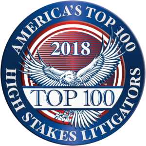 High Stakes Litigators badge