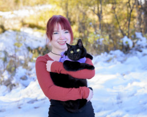 Carrie Richardson Records Paralegal and cat
