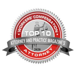Worker's Comp Attorney Award